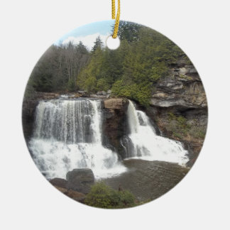 Blackwater Falls Christmas Ornament