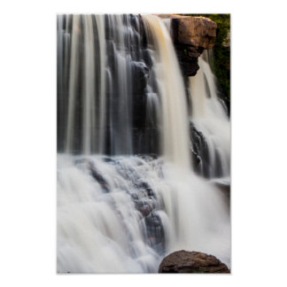 Blackwater Falls Up Close, West Virginia. Poster