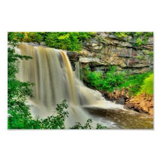 Blackwater Falls, West Virginia. Poster