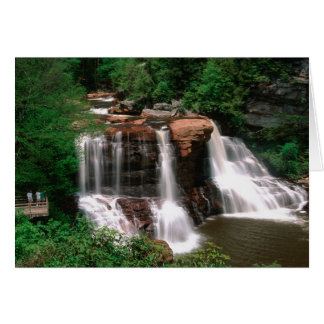 Blackwater Falls, West Virginia, scenic, Card