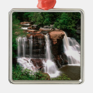 Blackwater Falls, West Virginia, scenic, Christmas Ornament