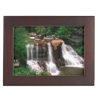 Blackwater Falls, West Virginia, scenic, Keepsake Box