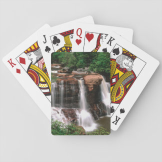 Blackwater Falls, West Virginia, scenic, Playing Cards