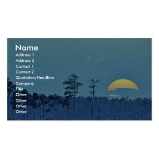 Blackwater National Wildlife Refuge Business Card Template