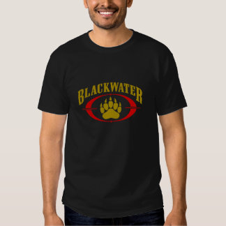 Blackwater USA Security Gold Black T Shirt Men