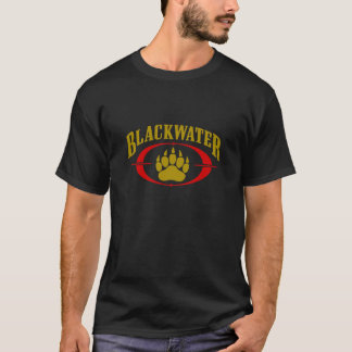 Blackwater USA Security Gold Black T Shirt Men