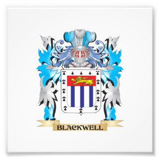 Blackwell Coat of Arms Art Photo