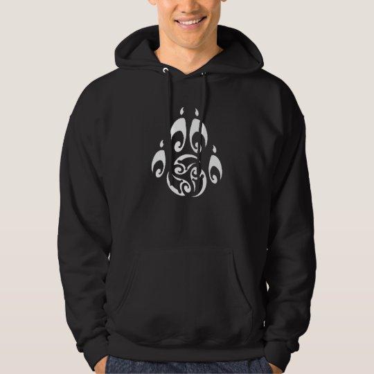 Blackwolf Majik Tribal Paw hoodie