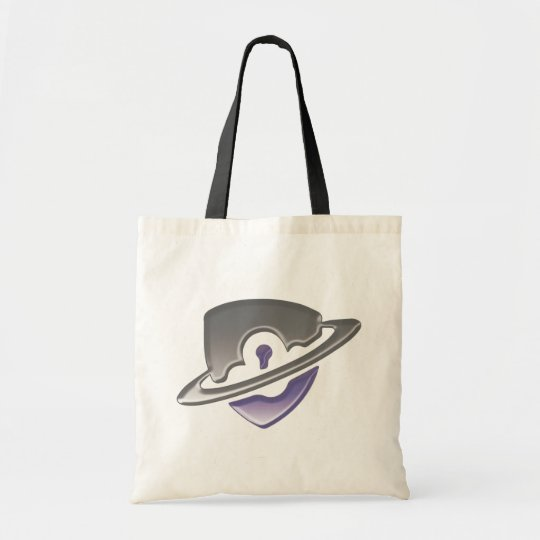 Blackwood logo tote bag - Purple