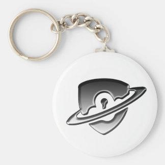 Blackwood Security logo keyring Basic Round Button Key Ring