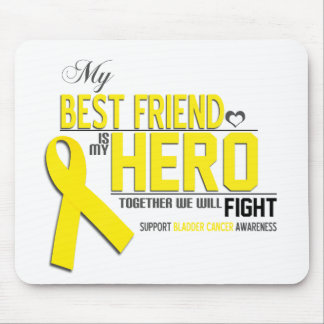 Bladder Cancer Awareness: best friend Mouse Pad