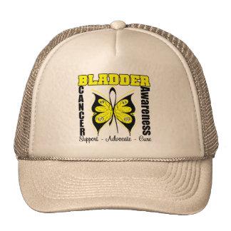 Bladder Cancer Awareness Butterfly Trucker Hat
