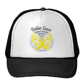 Bladder Cancer Butterfly 3 Cap