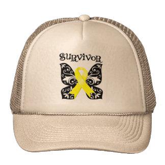 Bladder Cancer Butterfly Survivor Hat
