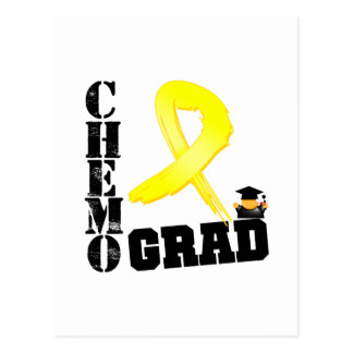 Bladder Cancer Chemo Grad Postcard