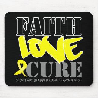 Bladder Cancer Faith Love Cure Mouse Pads