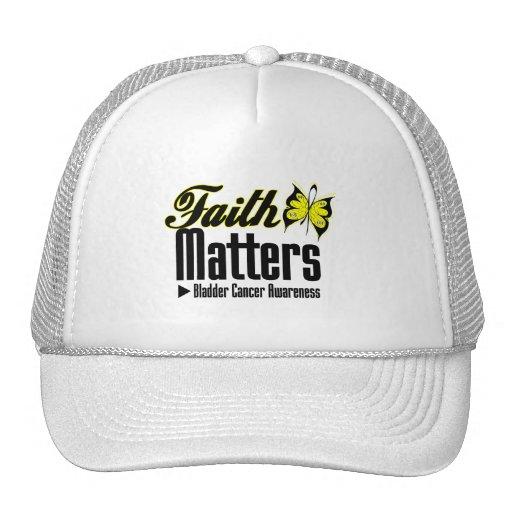 Bladder Cancer FAITH MATTERS Mesh Hat