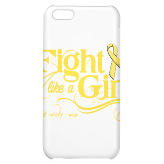 Bladder Cancer Fight Like A Girl Elegant Cover For iPhone 5C
