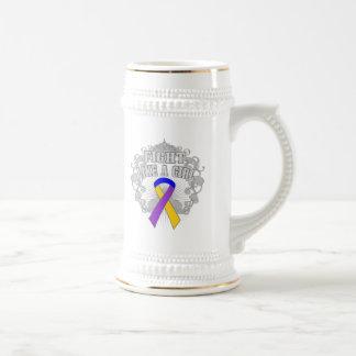 Bladder Cancer Fight Like A Girl Fleurish Mugs