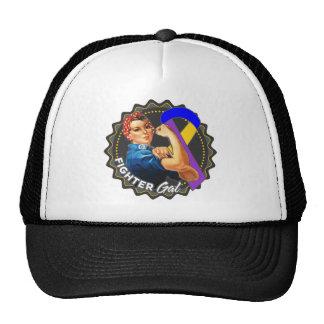 Bladder Cancer Fighter Gal Cap