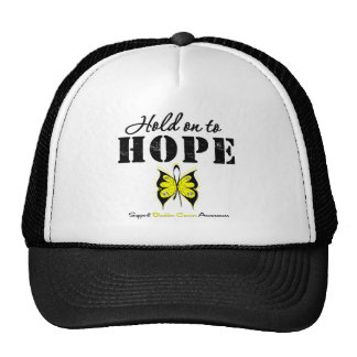 Bladder Cancer Hold On To Hope Mesh Hats