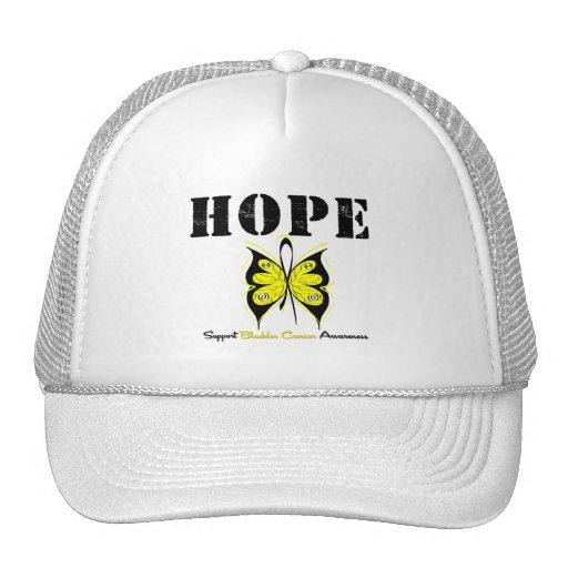 Bladder Cancer Hope Butterfly Mesh Hats