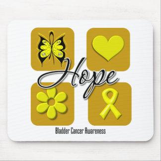 Bladder Cancer Hope Love Inspire Awareness Mouse Pad