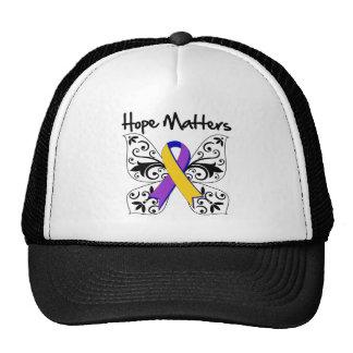 Bladder Cancer Hope Matters Mesh Hat