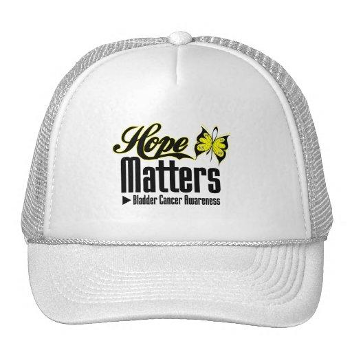 Bladder Cancer HOPE MATTERS Hats