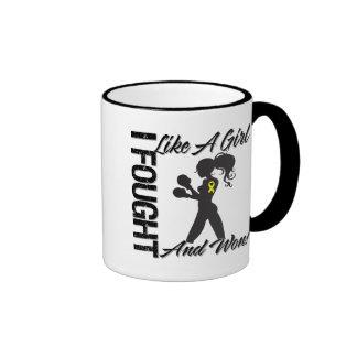 Bladder Cancer I Fought Like A Girl and Won Coffee Mugs