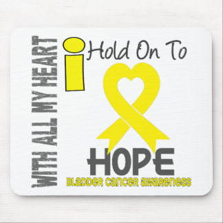 Bladder Cancer I Hold On To Hope Mouse Mats
