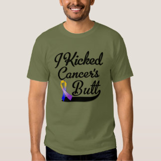 Bladder Cancer I Kicked Butt T Shirt