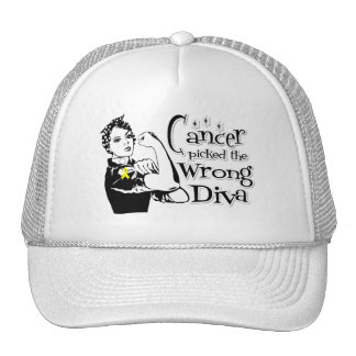 Bladder Cancer Picked The Wrong Diva Mesh Hats