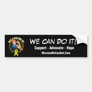 Bladder Cancer - Rosie The Riveter - We Can Do It Bumper Sticker