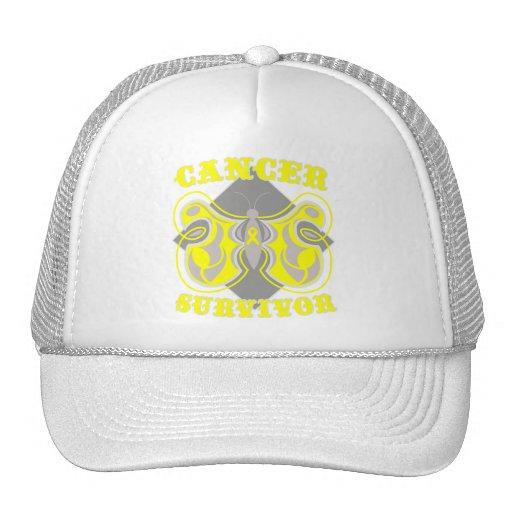 Bladder Cancer Survivor Butterfly Hat