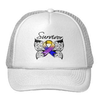 Bladder Cancer Survivor Butterfly Mesh Hat