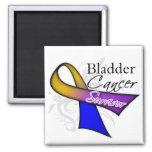 Bladder Cancer Survivor Ribbon
