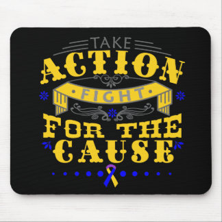 Bladder Cancer Take Action Fight For The Cause Mouse Pad