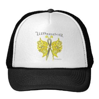 Bladder Cancer Warrior Celtic Butterfly Hats
