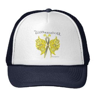 Bladder Cancer Warrior Celtic Butterfly Mesh Hats
