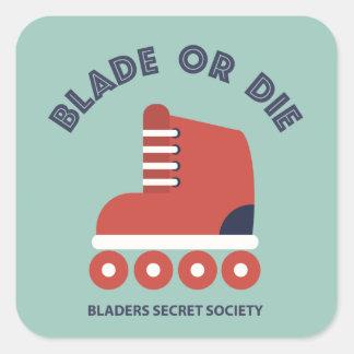 Blade or Die Square Sticker