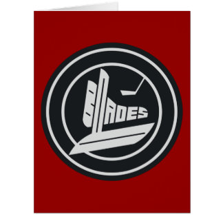 Blades Big Greeting Card