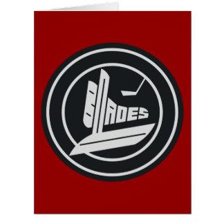Blades Big Greeting Card