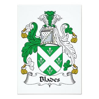 Blades Family Crest Invites