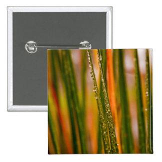Blades of grass 15 cm square badge