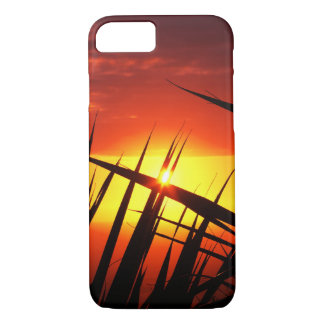 Blades of grass sunset beautiful scenery iPhone 7 case