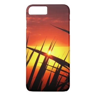 Blades of grass sunset beautiful scenery iPhone 7 plus case