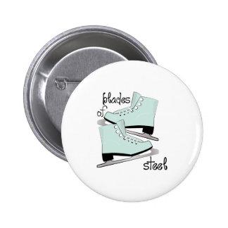 Blades Of Steel 6 Cm Round Badge