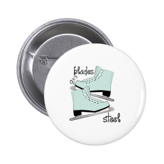 Blades of Steel Pinback Buttons