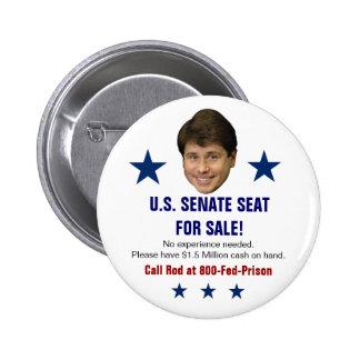 Blagojevich Sale 6 Cm Round Badge